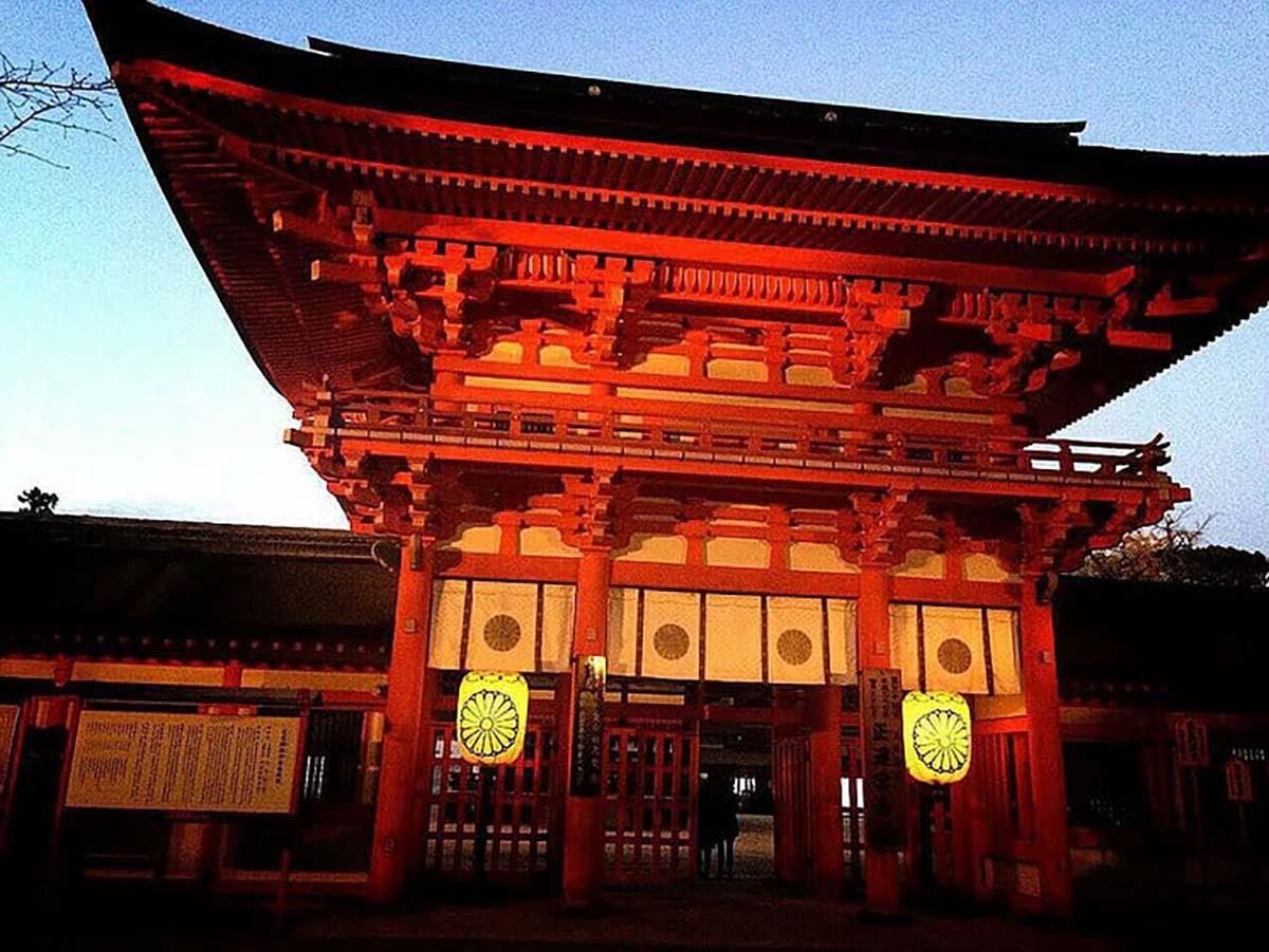 河合神社(かわいじんじゃ)で美人祈願
