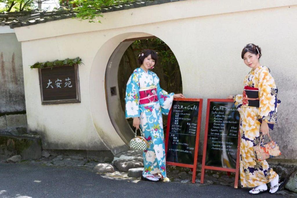 京割烹「大安苑(たいあんえん)」/喫茶「はなれのcafe」