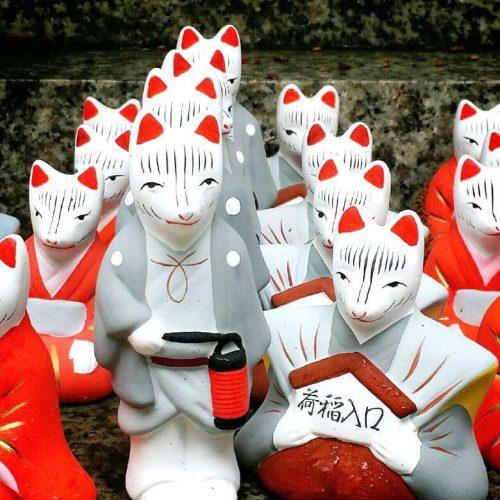 荒木神社の口入稲荷大神