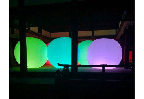 下鴨神社 糺の森の光の祭へ