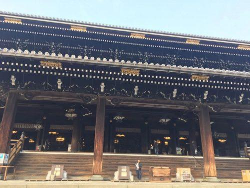 東本願寺の煤払い