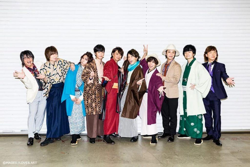 『明治東亰恋伽 ハイカラ浪漫劇場~Honeymoon~』出演者さまに衣装提供