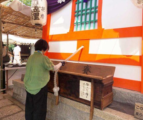 六道珍皇寺さんの迎え鐘2