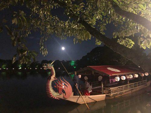 大覚寺観月の夕べ