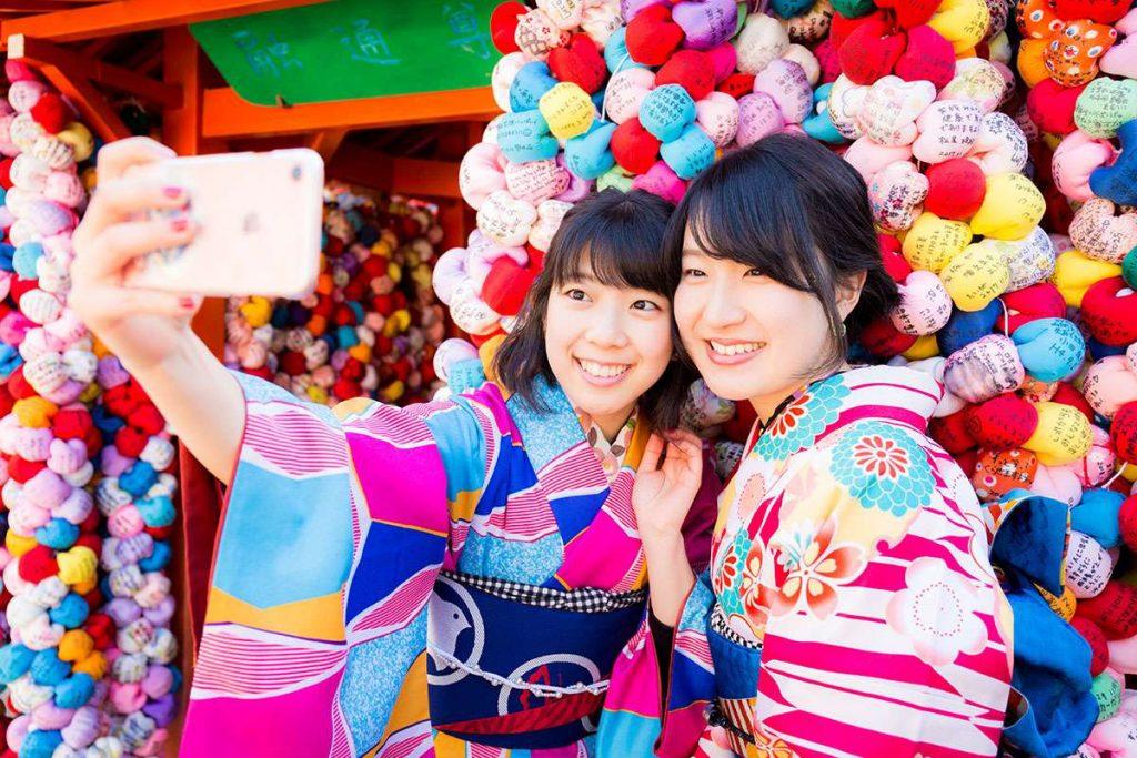 京都の名所でロケフォト撮影