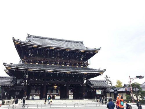 東本願寺周辺の紅葉