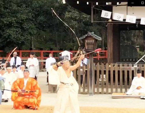 上賀茂神社の武射神事