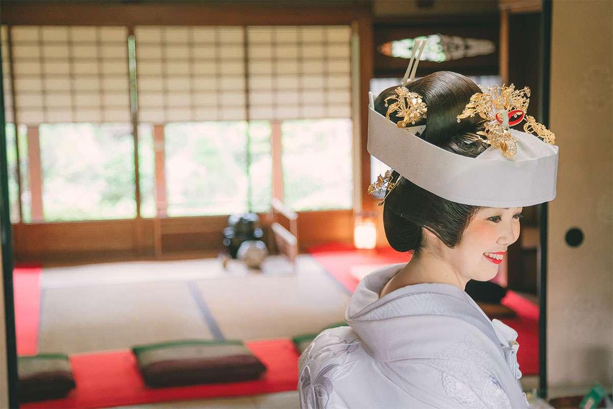 白無垢・日本髪