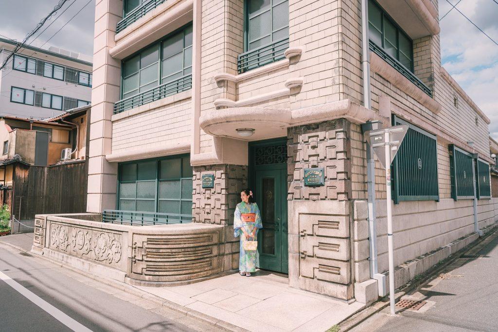 リニューアル前の任天堂旧本社ビル 五条路地裏映えスポット5選