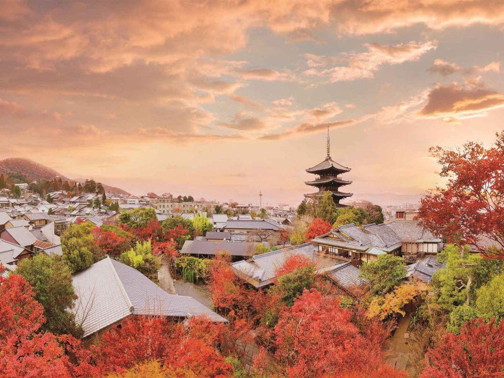 THE SODOH HIGASHIYAMA KYOTO 美しい紅葉の風景